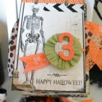 A Fun Halloween Calendar on frenchiewraps.com