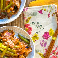 Create this easy Mongolian Beef Recipe using P.F. Chang's Home Menu® sauces