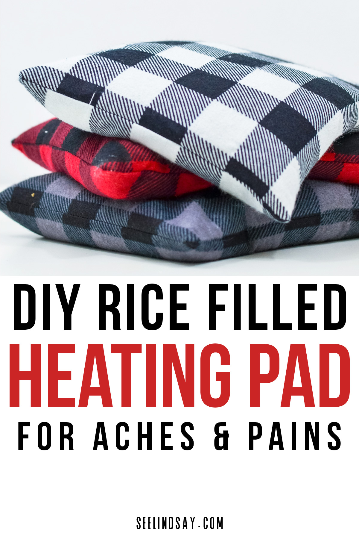 rice filled heating pad