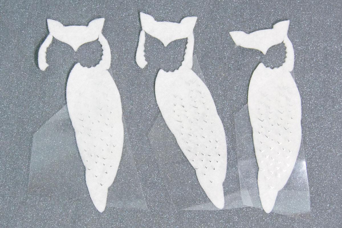 felt owl cutouts
