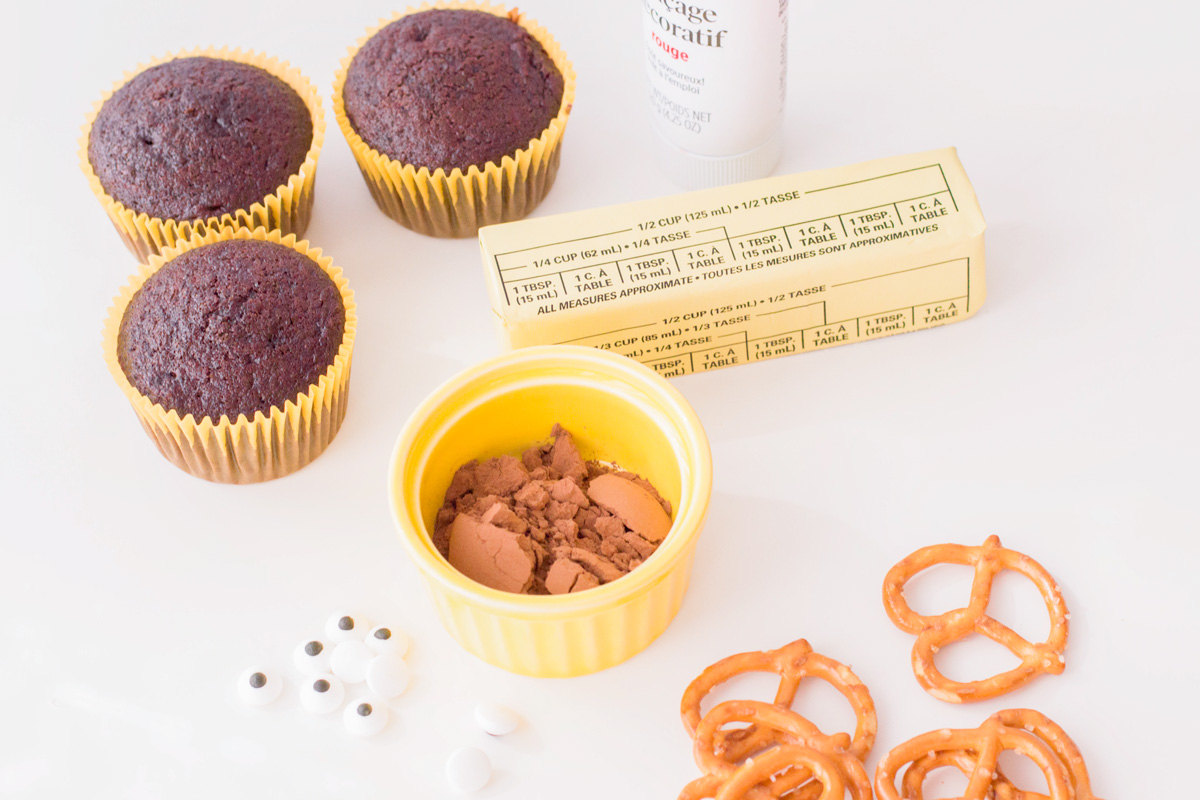 reindeer cupcake ingredients