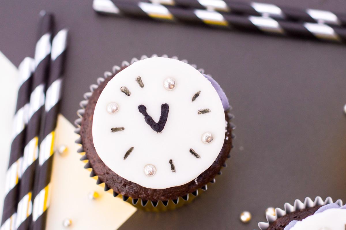 New Years cupcake recipe