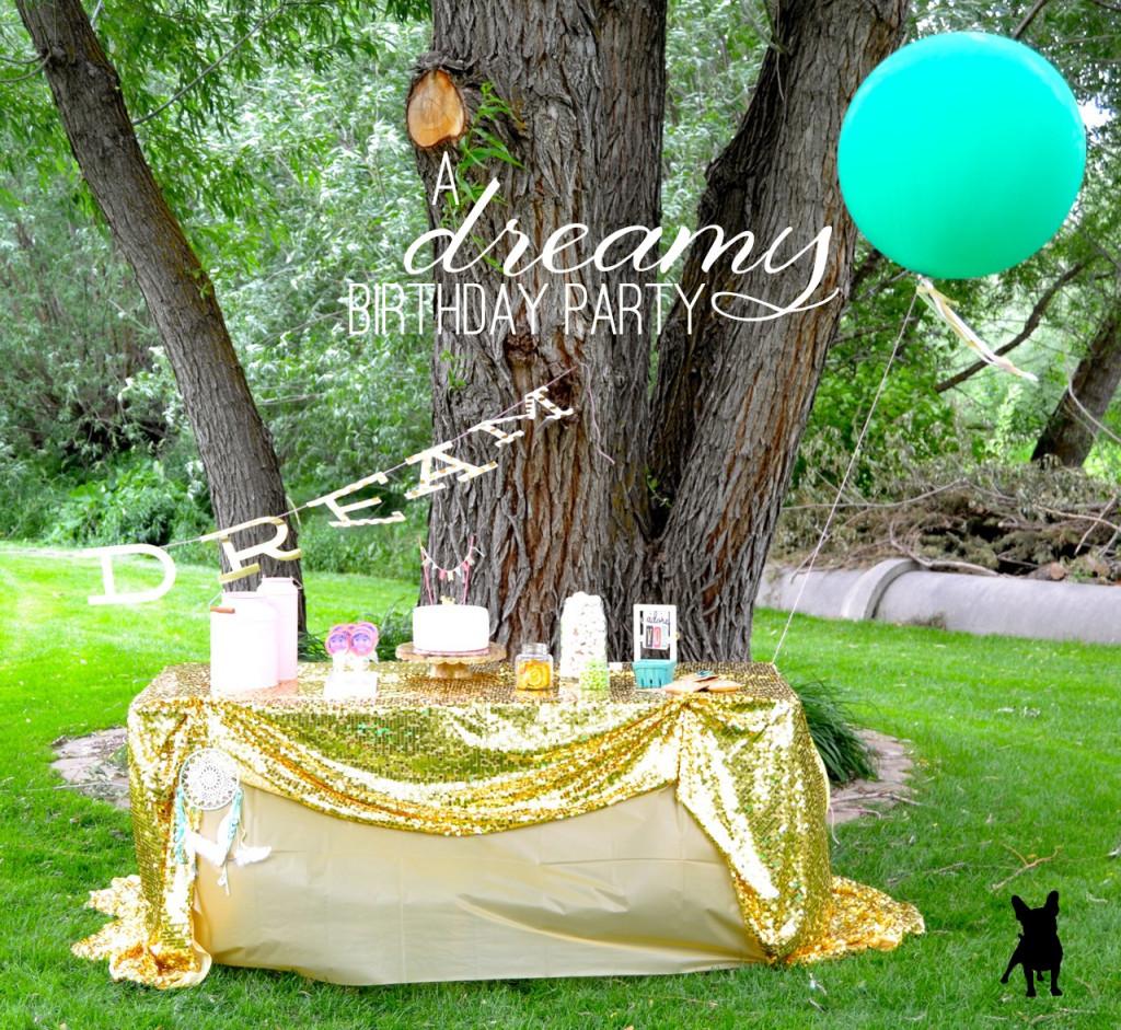 Dreamy Birthday Party for a Birthday Girl