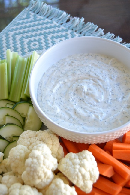 Easy Vegetable Dip