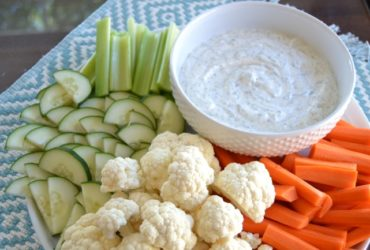 A Tasty, Easy Dill Vegetable Dip