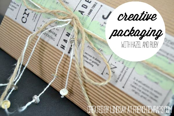 Hazel and Ruby Creative Packaging