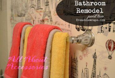 Bathroom Remodel Pt. 2