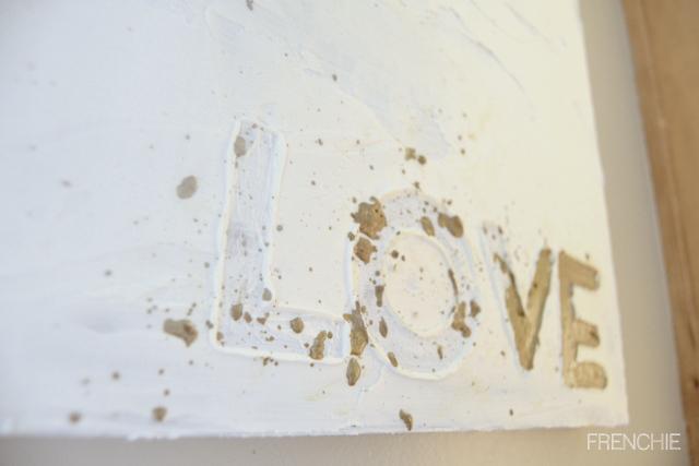 i L.O.V.E you Canvas Art