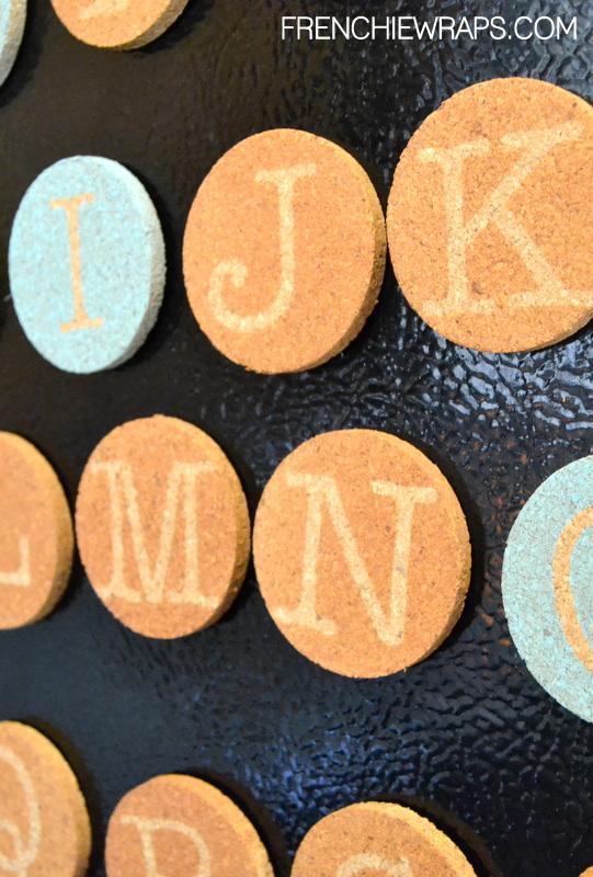 DIY Spelling Magnets