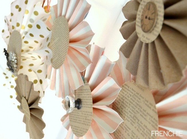 DIY Pinwheels with a Cricut Explore on Frenchiewraps.com