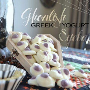 Ghoulish Greek Yogurt Eyeballs on seelindsay.com