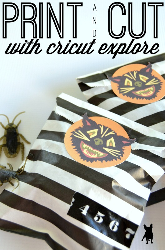 Print and Cut with your Cricut Explore