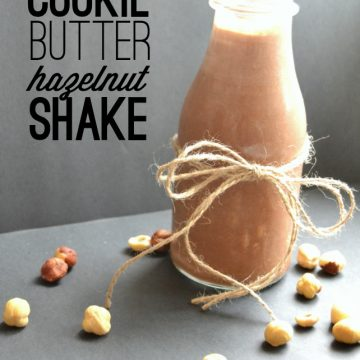 A Cookie Butter Hazelnut Shake by Frenchie for FleeceFun.com