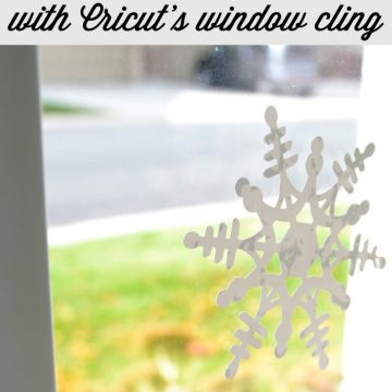 Snowflakes and a Cricut Explore Giveaway on seelindsay.com