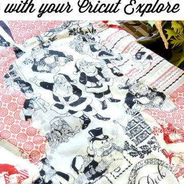 Cutting appliques for your quilt using the Cricut Expllore on seelindsay.com