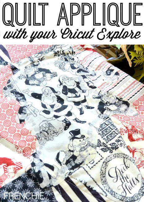 Cutting appliques for your quilt using the Cricut Explore on seelindsay.com