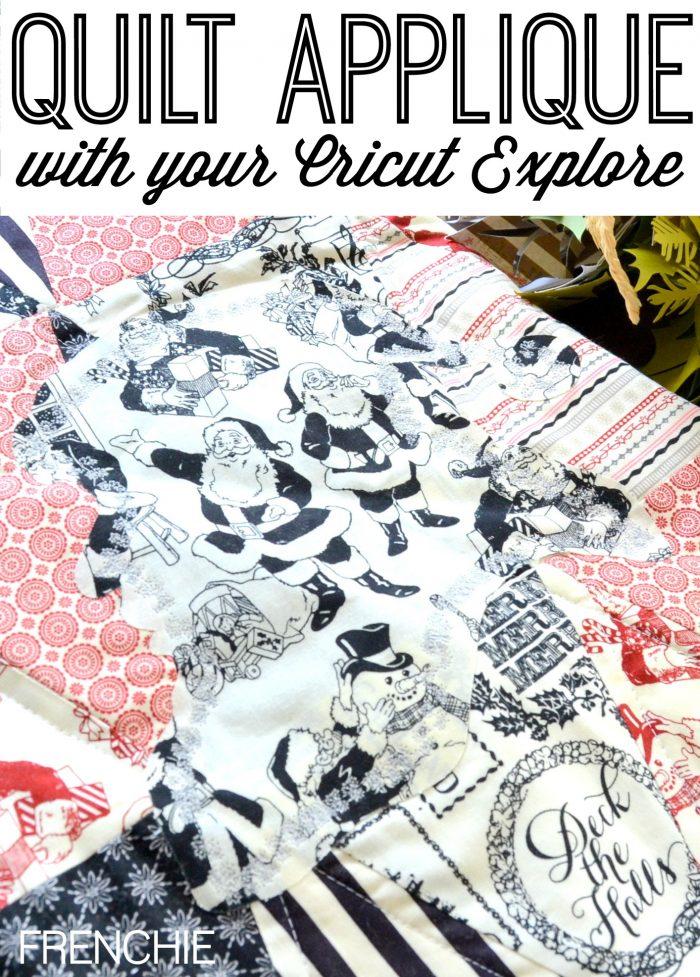 How to Cut Applique with your Cricut Explore