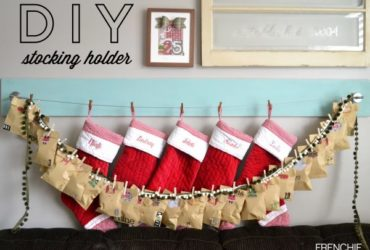 DIY Stocking Holder with RYOBI