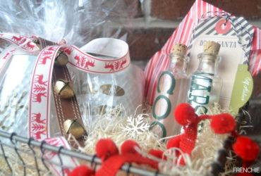 Easy Holiday Gift Basket using your Cricut