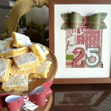 Create an easy and inexpensive neighbor gift using #mymindseye #sleighbells and an #ikea frame on seelindsay.com