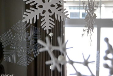 Acetate Snowflakes with your Cricut