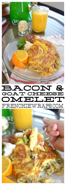Bacon & Goat Cheese Omelet