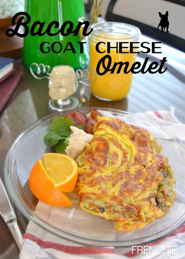 Bacon Goat Cheese Omelet