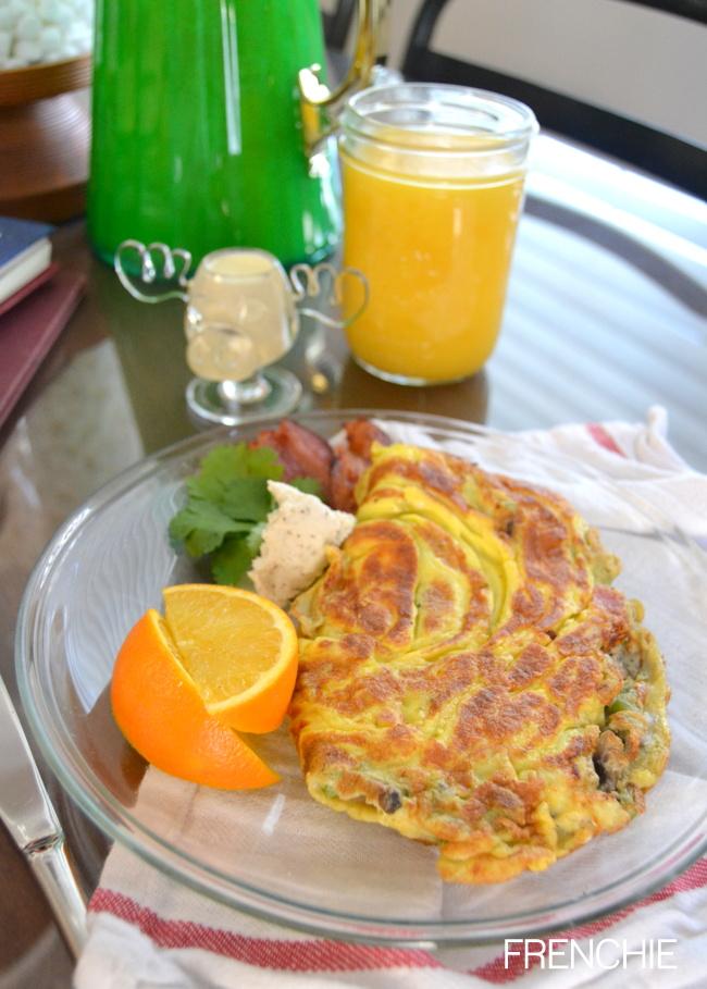 Bacon-goat-cheese-breakfast