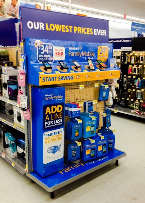Walmart Display