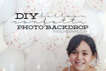 Make an EPIC Photo Balloon Backdrop