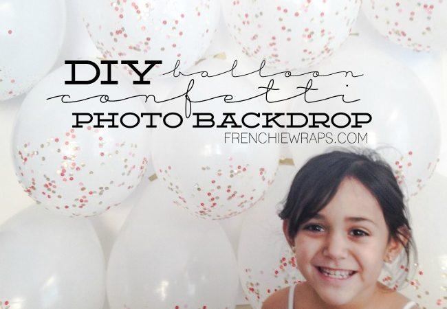 Make an EPIC Photo Balloon Backdrop