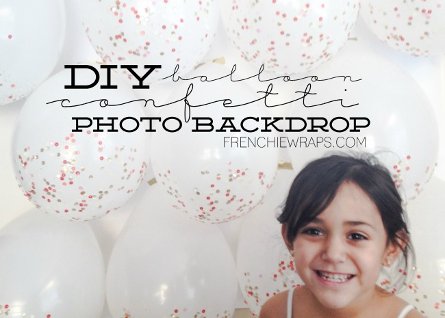 Create this EPIC balloon photo backdrop for any party, celebration or holiday with added sparkle and sequins. Super easy and only on seelindsay.com