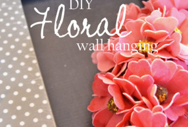 Easy DIY Floral Wall Hanging