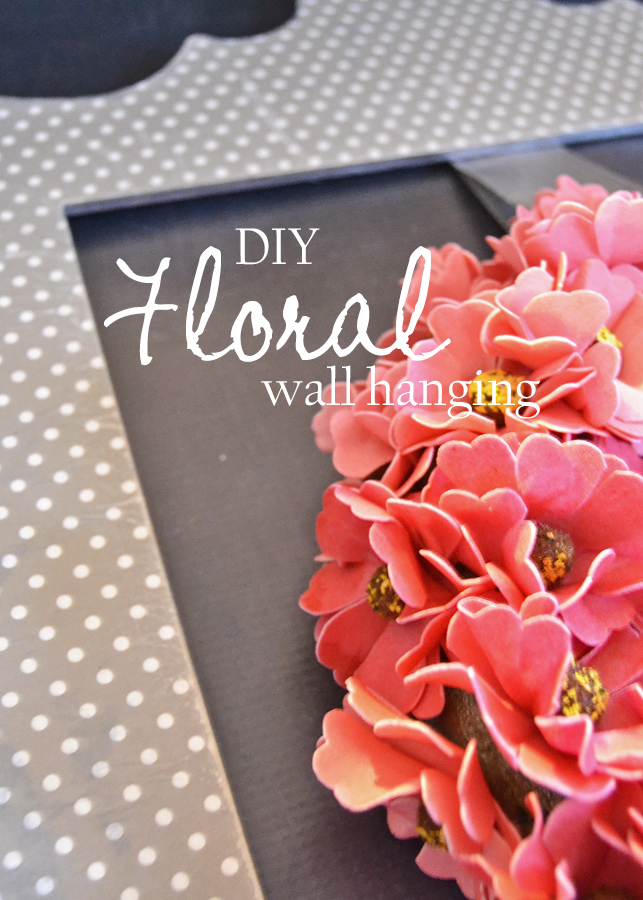 DIY Floral Wall Hanging