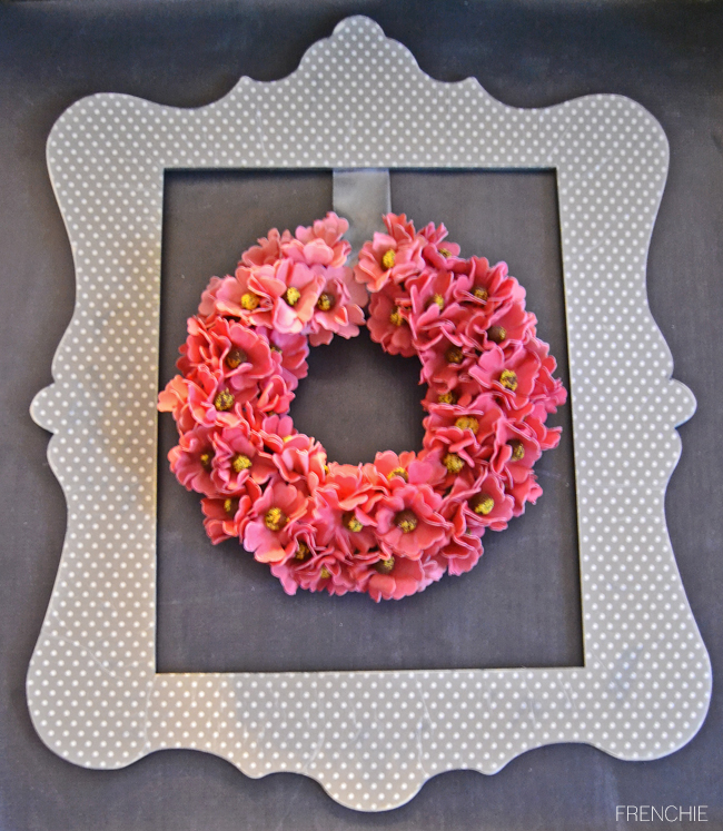 Create this easy and inexpensive wood floral wall hanging only on seelindsay.com  #madewithmichaels #plaidcrafts