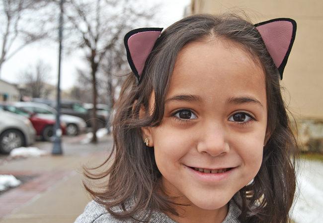 DIY Kitten Ear Barrettes