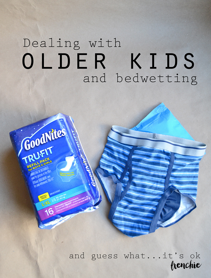 Dealing with Older Kids and Bedwetting