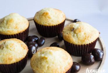 Chocolate Covered Cherry Breakfast Muffins