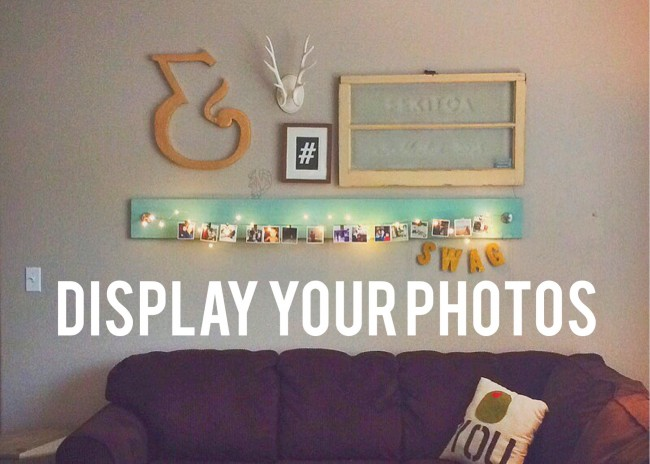 Display your Instagram photos easily and super chic using this DIY photo holder for less than $15.