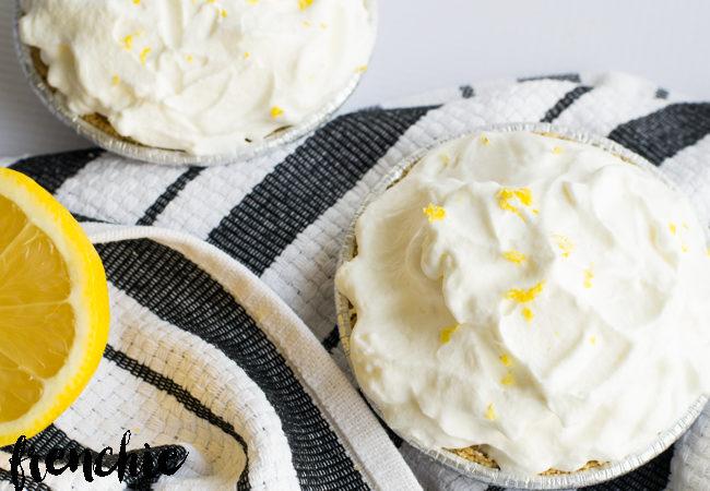 Mini Lemon Icebox Pies