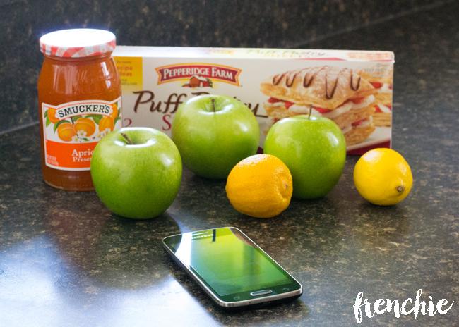 Apple Tart Ingredients