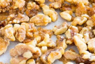 5 Minute Candied Walnuts Recipe