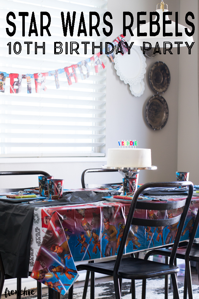 Star Wars Rebels Birthday Party with American Greetings