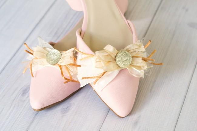 Fancy Shoe Clips Step 10