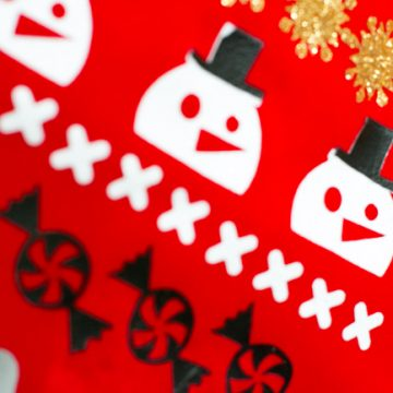 Do It Yourself Ugly Christmas Sweater Stockings