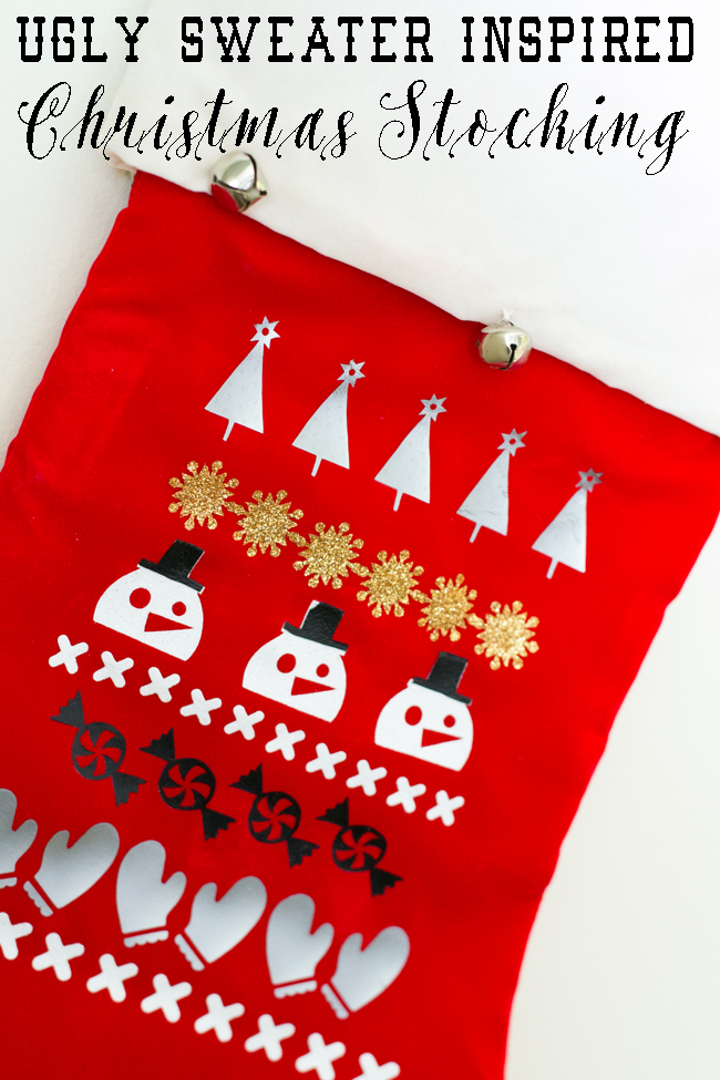 Ugly Sweater Stocking