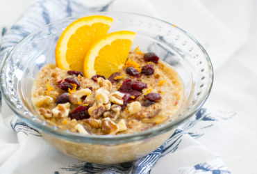 Wassail Inspired Oatmeal Recipe