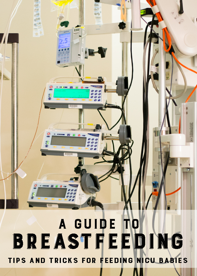 Some helpful tips and tricks on keeping your milk supply while your baby is in the nicu