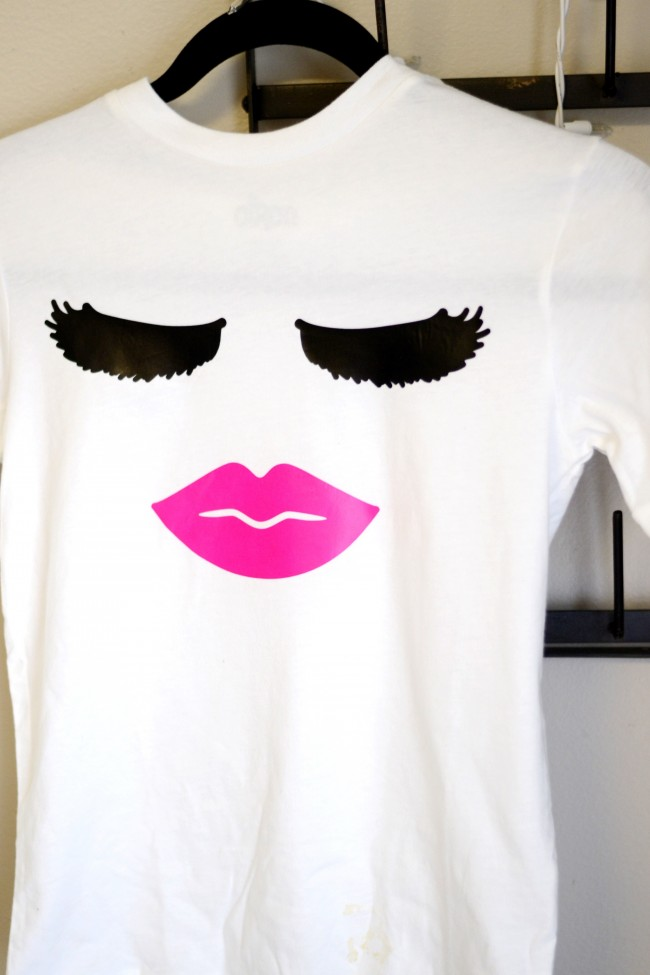 Lips and Lashes shirt