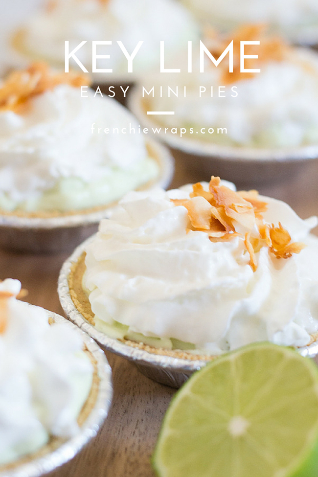 An easy key lime pie recipe #effortlesspies #ad